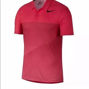 Nike Pink Mens   Golf Polo Short Sleeve Size M